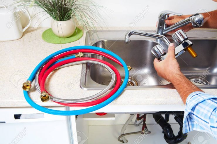 34759982-plumber-on-the-kitchen-renovation-and-plumbing-